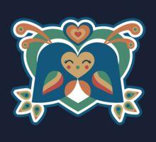 Love Birds One Piece - Long Sleeve