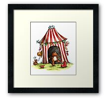 Berties House - Dog Cards & Prints Framed Print