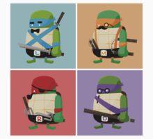 Teenage Mutant Ninja Turtles Pop Art Kids Clothes