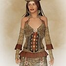 Steampunk Wild West Lady by Liam Liberty