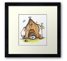 Jacks House - Dog Cards & Prints Framed Print
