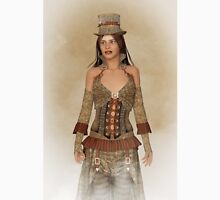 Steampunk Wild West Lady Unisex T-Shirt