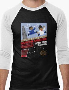 8-Bit Inspector Men's Baseball ¾ T-Shirt