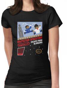8-Bit Inspector Womens Fitted T-Shirt