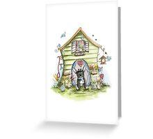 Shabbys House - Dog Cards & Prints  Greeting Card