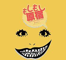 Moshi Moshi Harajuku (Phone Case) by pinkbook