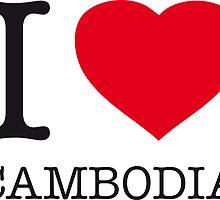 I ♥ CAMBODIA by eyesblau