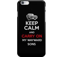 Supernatural Keep Calm iPhone Case/Skin