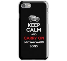 Supernatural Keep Calm iPhone Case/Skin