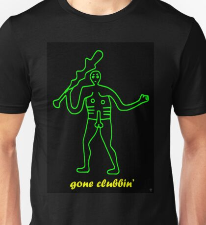 GONE CLUBBIN Unisex T-Shirt
