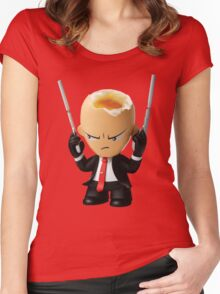 Hitman Eggsolution Women's Fitted Scoop T-Shirt