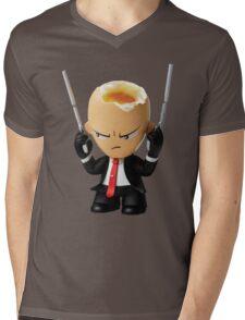 Hitman Eggsolution Mens V-Neck T-Shirt