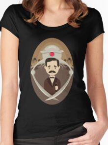 H. G. Wells Women's Fitted Scoop T-Shirt