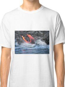 Lava Flow at Kalapana 15 Classic T-Shirt