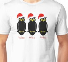 Christmas Owls Unisex T-Shirt