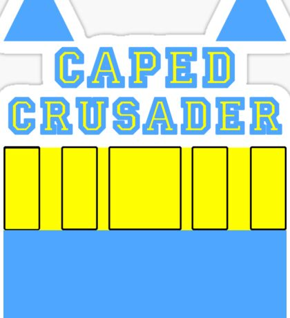 Layers - Caped Crusader 2 Sticker