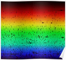 Sunlight  - Full Emission Spectrum Poster