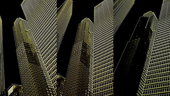 Triptytch Towers by PPPhotoArt