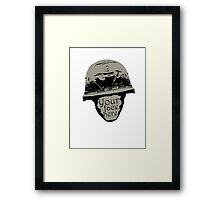 Your face here Framed Print