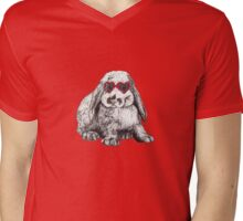 Lolita Bunny Mens V-Neck T-Shirt