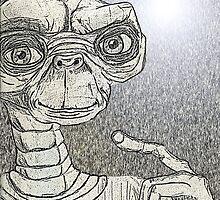 Dark E.T. by Michelle Morine