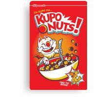 Kupo Nuts Canvas Print