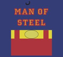 Layers - Man Of Steel 2 by Jamie Meakin