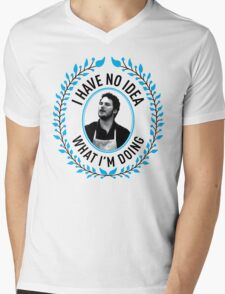 Andy Dwyer - I Have No Idea What I'm Doing Mens V-Neck T-Shirt