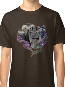 The Silent Angel in a Blue Box Classic T-Shirt