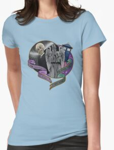 The Silent Angel in a Blue Box T-Shirt