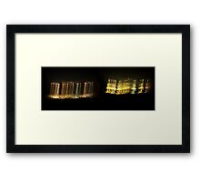 ©NLE The Rise Of Lights Framed Print