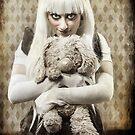 Crazed woman by Sharonroseart