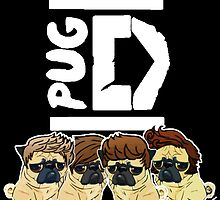Pug Direction by darklordpug