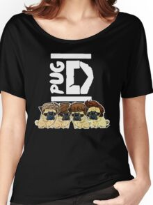 Pug Direction Women's Relaxed Fit T-Shirt