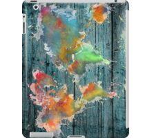 World map splash iPad Case/Skin