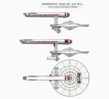 Star Trek OS  USS Thunderchild Kids Clothes