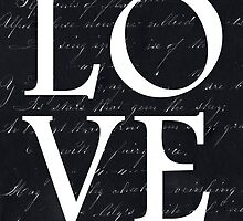 love - black and white edition by beverlylefevre