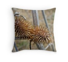 They Tell Me I'm Prickly Throw Pillow