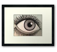Ailing Eye Framed Print