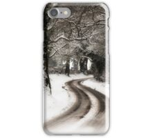 Winter Lane iPhone Case/Skin