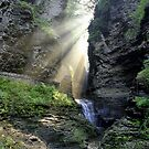 Heaven&#x27;s Light In Watkins Glen by Gene Walls