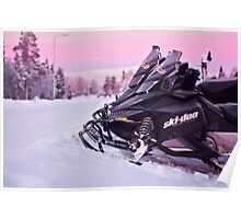 Snowmobiles Poster