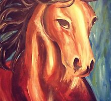 Danielle's Horse by Brittany Alms