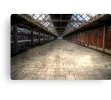 Abandoned trainstation II Canvas Print