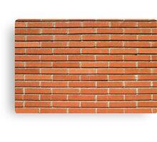 Bricks Wall Canvas Print