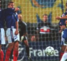 Roberto Carlos Free Kick Sticker