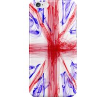 Union Jack Flag - Cool Wispy Effect iPhone Case/Skin