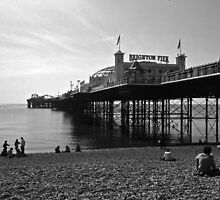 Brighton Pier by Georgina Lockwood
