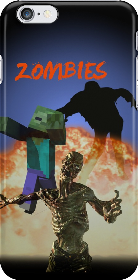 Zombies - The Gathering by Rowans Designs