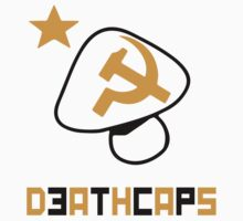 DeathCaps Tribe Alternate colors: Black and red by Tag-Ink